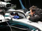 Mercedes release visor-cam Halo footage from Bottas shakedown