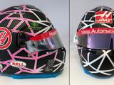 Romain Grosjean unveils striking one-off home race helmet