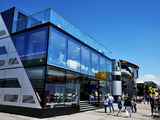 Team motorhomes to return at Belgian GP