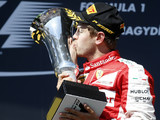 Vettel unhappy with F1's 'super-boring' trophies