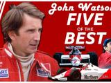 Matching Lauda, charging drives and making history - John Watson's five of the best