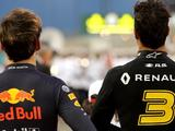 Daniel Ricciardo surprised at Piere Gasly's deficit to Max Verstappen