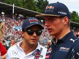 Max Verstappen apologises for 'offensive remark' after Felipe Massa warning
