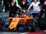McLaren suffers setback as second F1 test begins