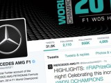 Mercedes leads the way when it comes to social media