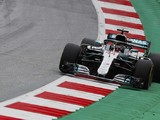 Austrian GP: Hamilton heads another Mercedes 1-2 in second practice