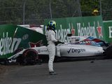 Williams blames DRS for Felipe Massa's FP1 accident in Canada