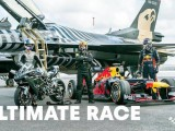 Watch: The Ultimate Race - RB8 v H2R v F16 v Tesla...