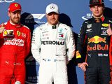 Bottas on pole as Hamilton struggles