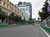 Baku track gets second DRS detection point