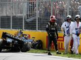 Kevin Magnussen set for pit lane start after Q2 crash