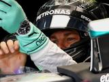 Nico Rosberg heads Lewis Hamilton in Malaysia practice after bizarre Renault fire