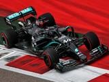 Hamilton relieved to take pole in 'panicked' session