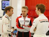 Magnussen, Evans and Turvey complete day 1 of Porsche LMP1 test in Spain