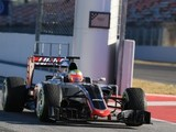 Fuel system issue curtails Haas day early