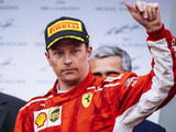 "Raikkonen ""lucky"" to finish race after late mistake"