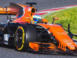 McLaren on track for filming day