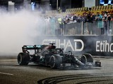Hamilton concedes physical struggles during Abu Dhabi race