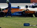 Bottas fastest after P2 crashes; Ferrari struggle