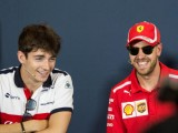 Vettel happy to help Leclerc... while beating him on-track