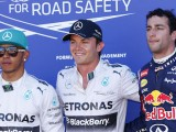 Rosberg snatches pole after error ends battle early