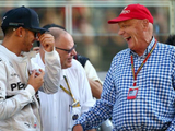 Hamilton: Lauda the reason I'm a five-time champion