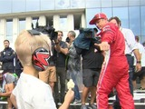 Pit Chat: Robin Raikkonen steals the show