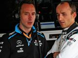 Williams: Robert Kubica technical feedback 'invaluable' to Williams' future hopes