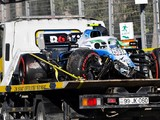 Kubica to start his Williams from pitlane after Baku qualifying crash