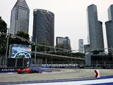 Max Verstappen quickest in Singapore as Valtteri Bottas crashes