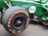 New tyres could help Caterham?