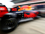 Red Bull celebrate Honda 'party mode'
