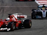 Race: Vettel beats Hamilton to Bahrain win