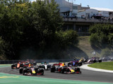 Verstappen apologies for first lap incident