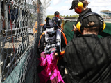 Four arrests made after British GP security breach