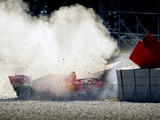 Ferrari confirm cause of Vettel crash