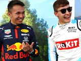 Russell beats Albon to seal virtual F1 hat-trick