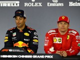 When Ricciardo and Raikkonen queued for the toilet…