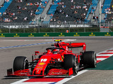 Leclerc exceeded his expectations in Sochi practice