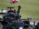 Hamilton meets 'oldest fan' after 100th race win