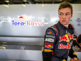 Kvyat finished at Toro Rosso