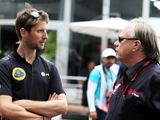 Grosjean happy with Haas sim outing