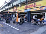 McLaren team member 'recovering well' after positive test