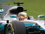 "Lewis Hamilton: ""I'm super happy to be back in the car, particularly after a first day like that!"""