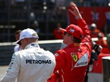 The champion is coming out in Kimi Arrivabene