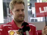 Vettel rules out out swapping helmet for a mic