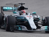 Hamilton builds 'solid platform' on first day