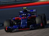 Gasly Reveals Debris Missed Halo and Hit his Visor on First Lap in Sochi