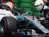German Grand Prix: Lewis Hamilton to start 14th after hydraulic failure