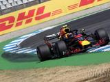 Verstappen tops second practice at Hockenheim